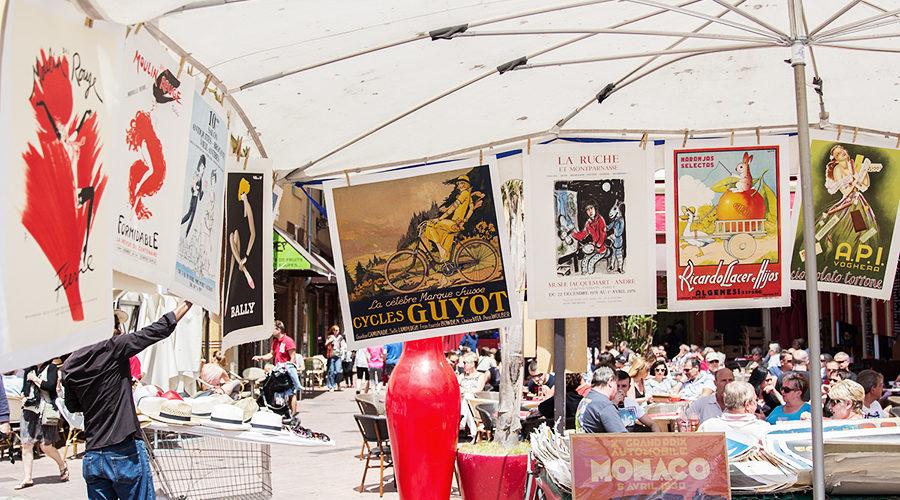 Возвращение в Ниццу. Посещение антикварного рынка